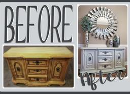 Furniture Makeover: Gertrude > Adelynne