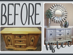 Furniture Makeover: Gertrude > Adelynne