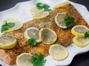 Whole30 Citrus-Herb Salmon