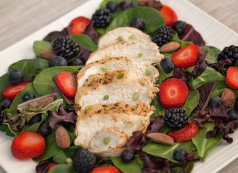 Whole30 Berry Chicken Salad