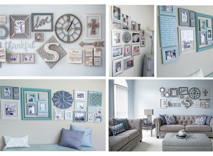 Create & Hang a Custom Wall Collage in 5 Easy Steps