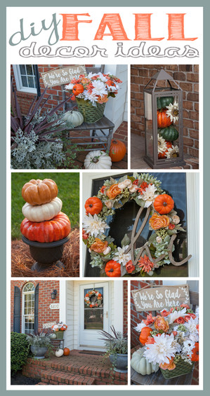 DIY Fall Outdoor Decor Ideas