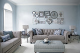 Newlywed Home Tour: Formal Living Room
