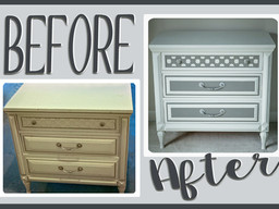 Furniture Makeover: Edna > Juliette