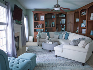 Newlywed Home Tour: Living Room