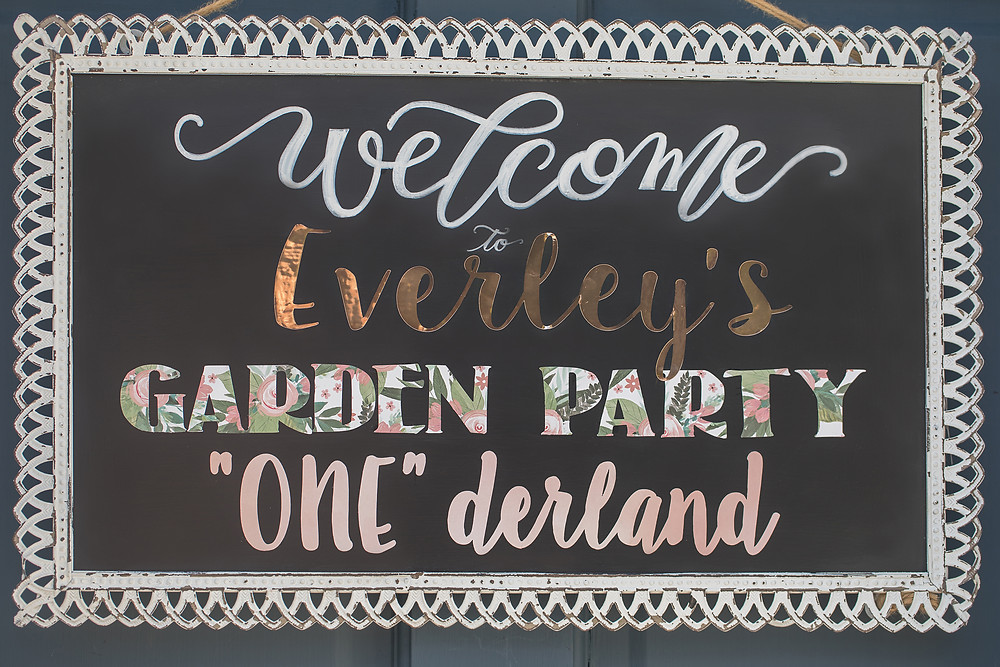 One-der-land Garden Party 1st Birthday Party - Ideas, floral boho decor and decoration ideas, food, cake, signs, and desserts for girl's 1st birthday party