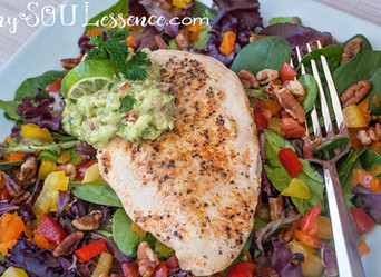 Whole30 Colorful Chicken Salad
