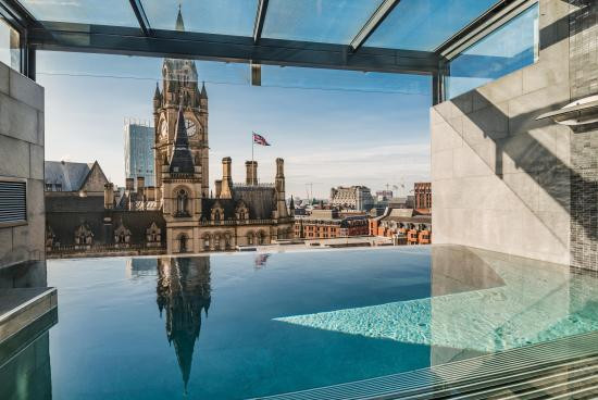 Infinity Pool at King Street townhouse Manchester