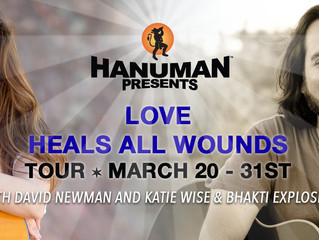 LOVE HEALS ALL WOUNDS TOUR March 20 – 31st, 2019