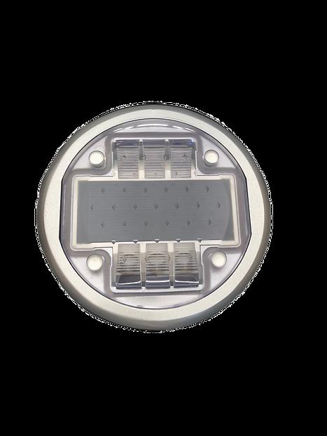 Balisage solaire carrossable haute résistance. ALMS Technologies plot routier led solaire de balisage carrossable compatible passage de véhicule, balisage solaire de voies cyclable et balisage solaire de passages piétons. ALMS P31D