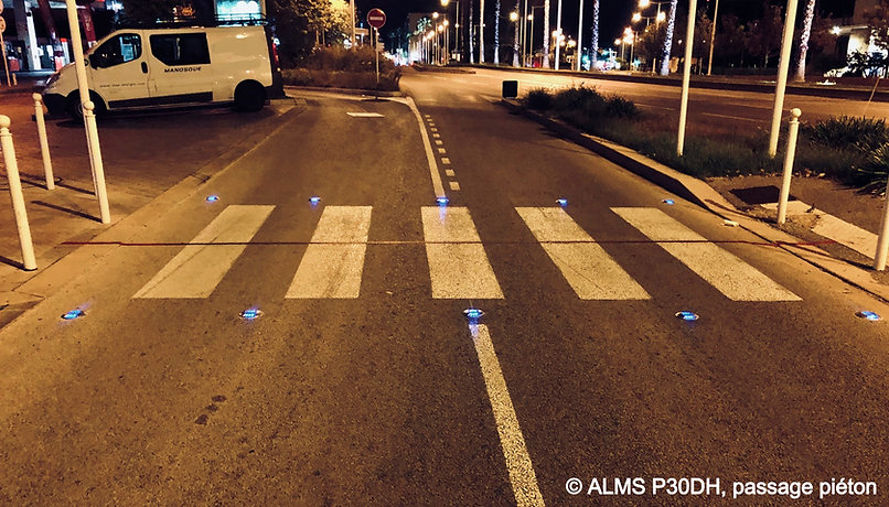 Plot routier led solaire ALMS P30DH