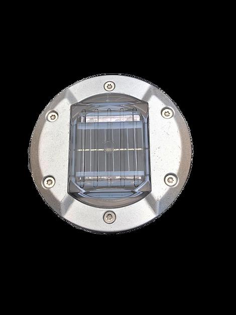 Balisage solaire carrossable haute résistance. ALMS Technologies plot routier led solaire de balisage carrossable compatible passage de véhicule, balisage solaire de voies cyclable et balisage solaire de passages piétons. ALMS P30DS
