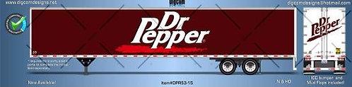 HO - DR PEPPER 53´Trailer