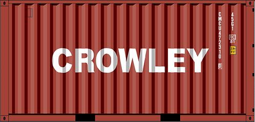 HO - CROWLEY 20' Sea Container