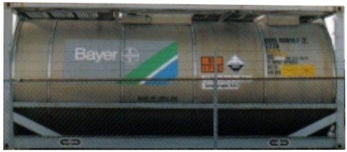 N - BAYER 20´ Tank Containers