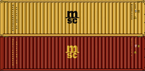 HO - MEDITERRANEAN SHIPPING CO 40´ Double Stack