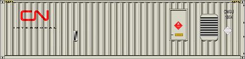 N - CN INTERMODAL 40´Generator Container