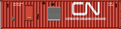 HO - CN DISTRIBUTED BREAKING 40´Utility Container