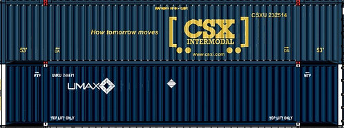 HO - CXS INTERMODAL 53´ UMAX 53´- Double Stack