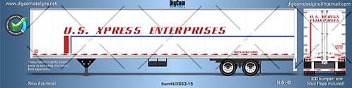 N - U.S XPRESS ENTERPRISES 53´Trailer
