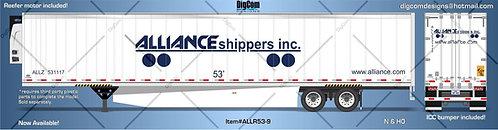 N - ALLIANCE SHIPPERS INC. 53´Trailer