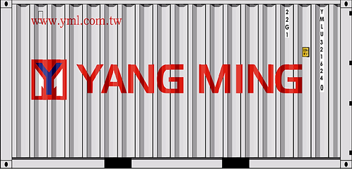 N - YANG MING 20´Sea Container