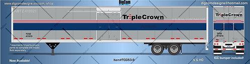 N - TRIPLE CROWN GRAY ROADRAILERS53´Trailer