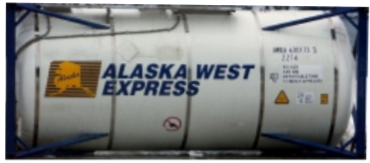 HO - ALASKA WEST EXPRESS 20´ Tank Containers