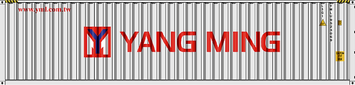N - YANG MING 40´Sea Container