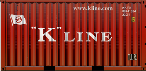 N - K´LINE 20´ Sea Container