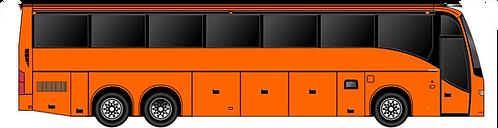 HO - Tour Bus Orange