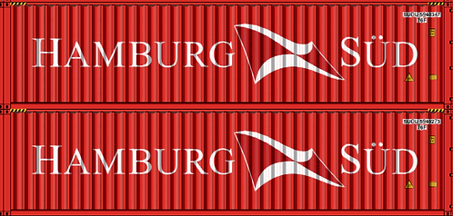 N - HAMBURG SUD 40´ Double Stack