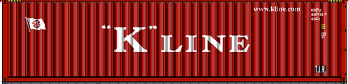 HO - K´LINE 40´ Sea Container