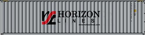 N - HORIZONE LINES 40´ Sea Container