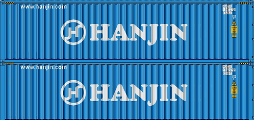HO - HANJIN 40´ Double Stack