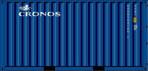 N - CRONOS 20' Sea Container