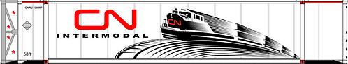N - CN INTERMODAL 53´Reefer