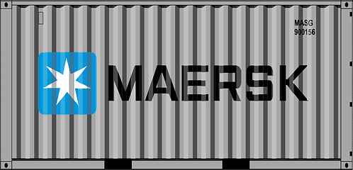 HO - MAERSK GRAY 20´Utility Container