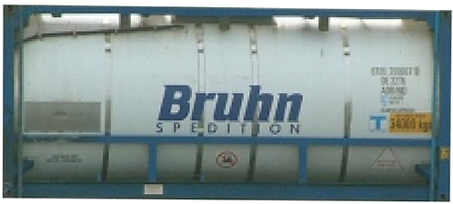 N - BRUHN 20´ Tank Containers