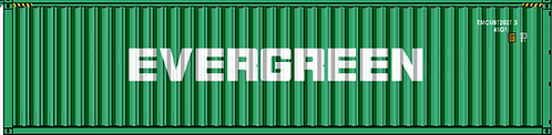 N - EVERGREEN 40´ Sea Container