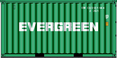 N - EVERGREEN 20´ Sea Container