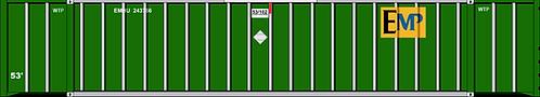 N - EMP 53' Corrugated Green