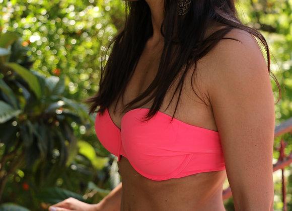 Bikini rosa - parte de cima