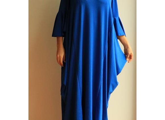 Vestido comprido oversize