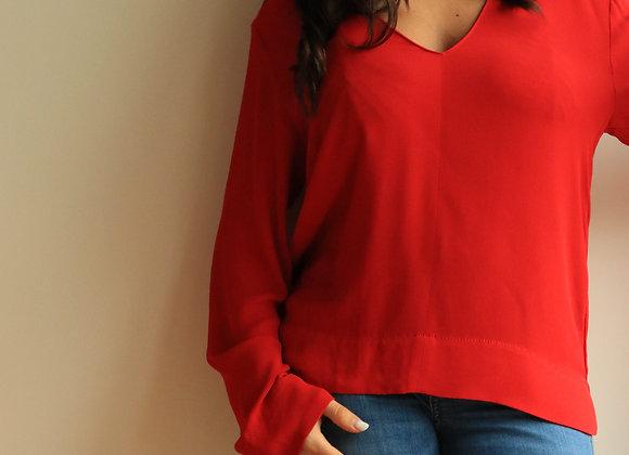 Camisola vermelha