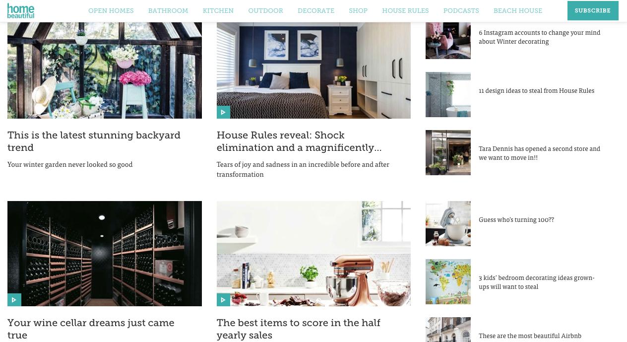 Digital Content Editor - Home Beautiful magazine