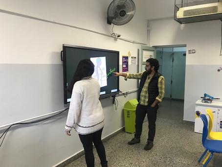2do Curso Capacitación Pizarra electrónica Digital Ministerio Ciudad de Buenos Aires