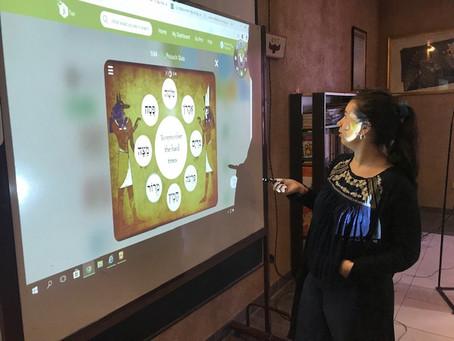 Capacitación comunidad Shule IL Perezt en Aula Digital Móvil, Resistencia, Chaco