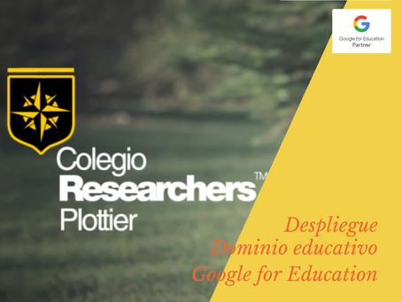 Formación Profesional de docentes en Colegio Researchers de Plottier, Neuquén