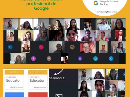 Escuela del Cono Sur transita las rutas de aprendizaje de Google